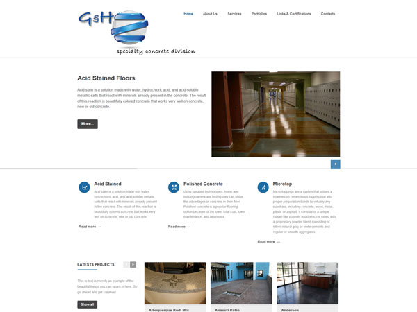 G&H Specialty Concrete, Inc.